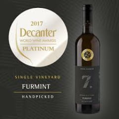 VINHO BRANCO ESLOVÊNO PUKLAVEC & FRIENDS SEVEN NUMBERS FURMINT 2016 750ML
